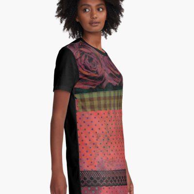 rovné šaty-pinky