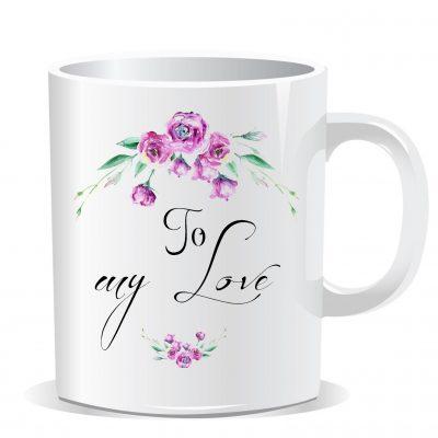 Nejen svatební hrnek-dárek