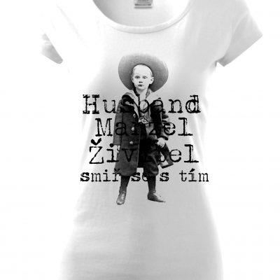 Dámské triko ve vintage stylu